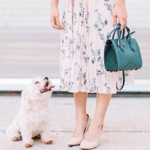 BLUE mini handbag- Alexandra Clancy